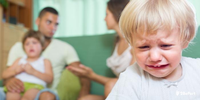 evita cualquier pelea por el bien de tus hijos