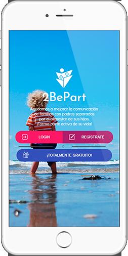 pantalla acceso 2BePart
