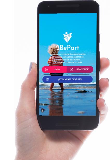 acceso gratis a 2bepart, la app para padres separados