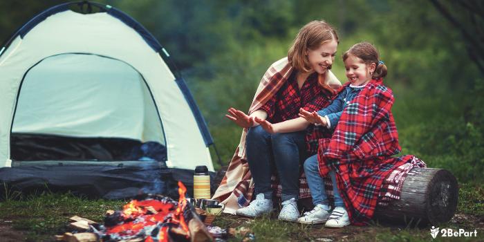 Alojarse en un camping con niños es muy buena idea