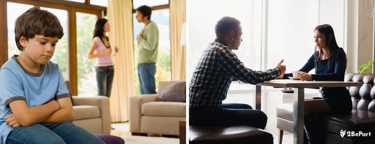cuida la comunicacion con tu ex pareja por el bien de tus hijos