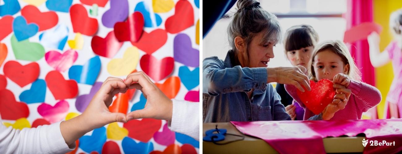 Ideas para pasar un San Valentín con niños