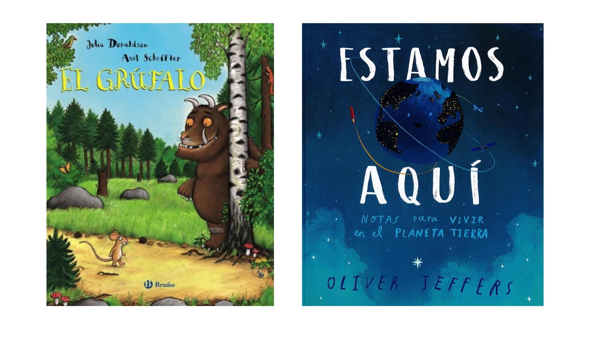 Libros para niños a partir de tres años