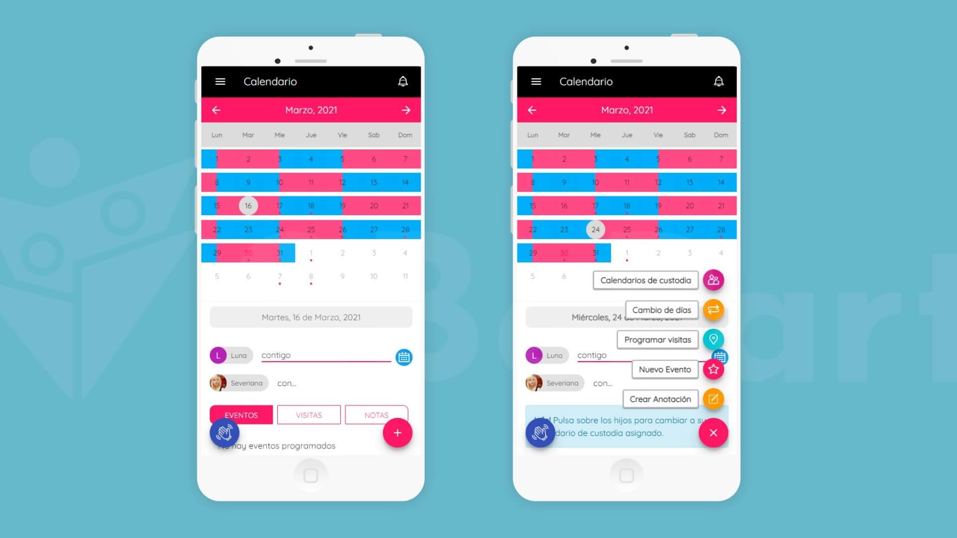 nueva funcionalidad para una óptima organización de notas en calendario